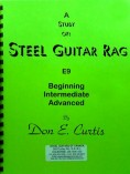 Don E. Curtis – A Study Of Steel Guitar Rag – E9th – Tab & CD
