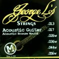George L Phosphorous Bronze Medium Gauge