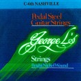 George L Nashville C6th Bright Nickel 10 String Set