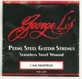 George L Nashville C6th Stainless 10 String Set