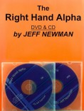 The Right Hand Alpha – CD & DVD (Beg-Int) [On Order]