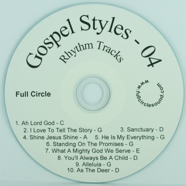 Phelps – Gospel Styles #4 – Chord Charts & RT CD | Online Store ...