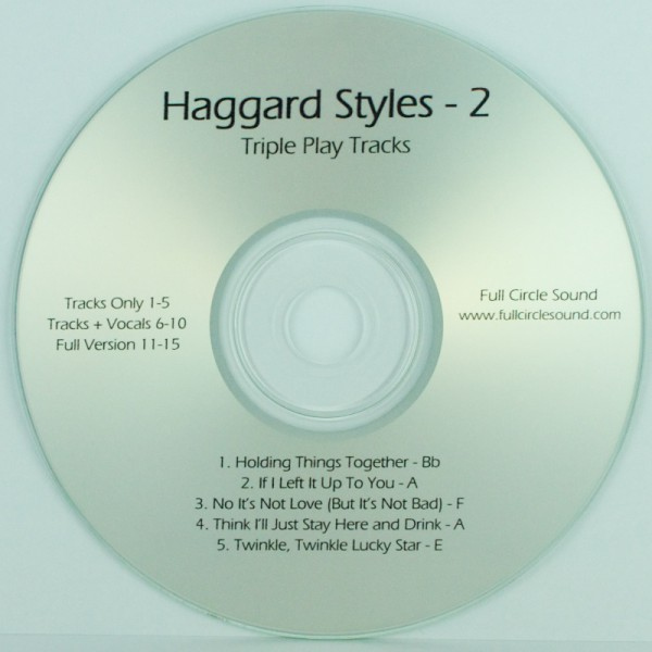 Phelps Merle Haggard Styles 2 Chord Charts Rt Cd Online