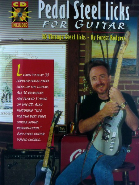 forest rodgers � pedal steel licks for guitar � book amp cd