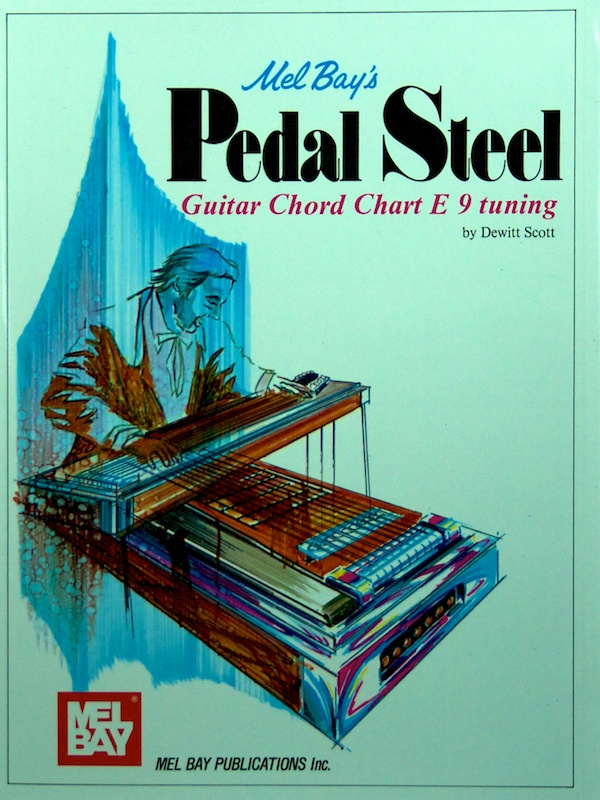 Mel Bay by Scotty – E9th Chord Chart | Online Store - Steel Guitars ...