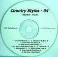 Phelps – Country Styles #4 – Chord Charts & RT CD