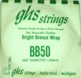 Single GHS BB50 Bright Bronze Wound Strings