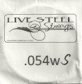 'Live' Stainless .054S Wound String