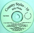 Phelps – Country Styles # 10 – Chord Charts & RT CD